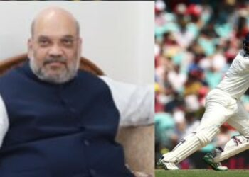Photo Courtesy: Twitter/BCCI/AmitShah