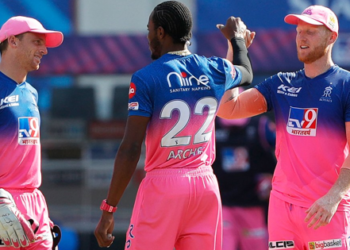 Photo Courtesy: Twitter/@rajasthanroyals