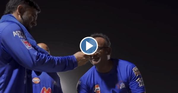 Screengrab: YouTube/Chennai Super Kings