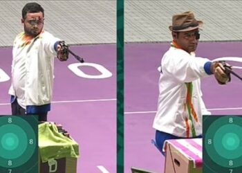 Photo Courtesy; Twitter/@ParalympicIndia